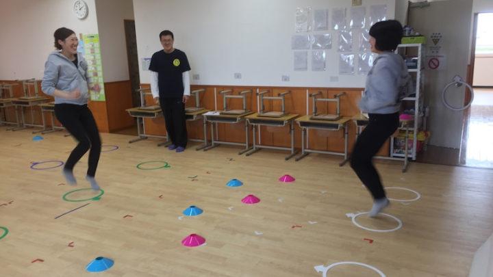 走運動の模擬授業